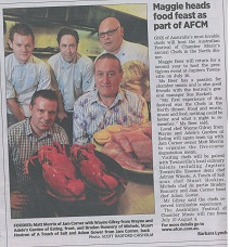 chefs in the north dinner | Townsville July 2012