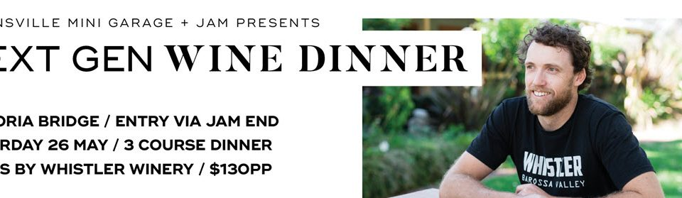 next gen wine dinner