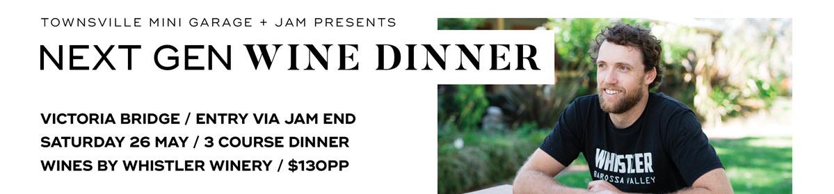 next gen wine dinner