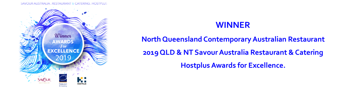 2019 Winner NQ Contemporary Australian Restaurant - Jam